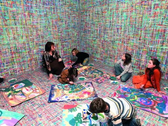 arte relazionale anna seccia La stanza del colore.