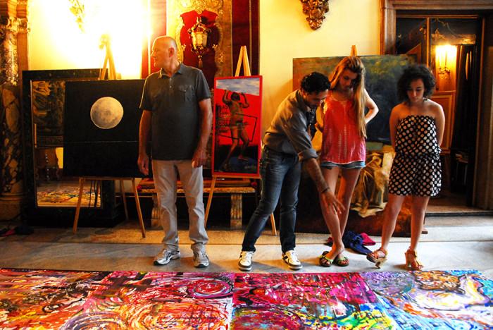 Happening La Stanza del Colore - i giovani pittori