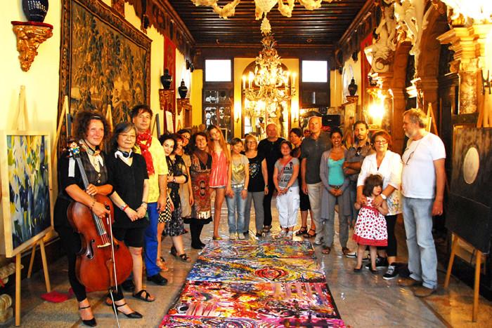 L'arte-del-colore-Venezia-Happening-8-Giugno-Venezia-Foto-di-Gruppo